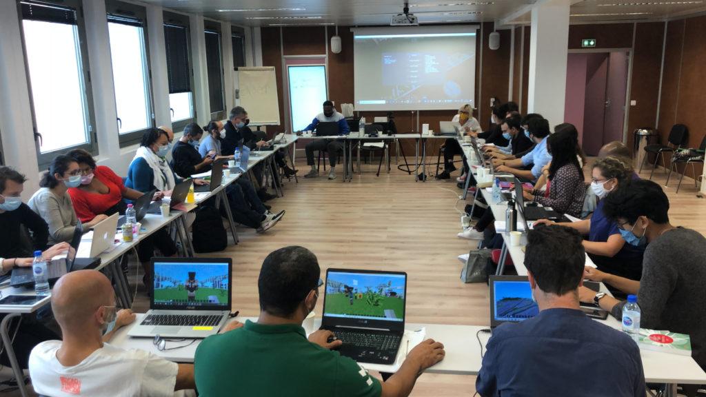 La formation des enseignants lors du programme UNEJ (Urbanité numérique en jeux)